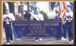 Pennsville Eagle Band At Scranton, PA 1997